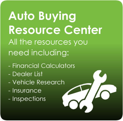 auto buying resource center. click the link for more information